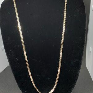 """29""""L 925 Sterling Unique Chain Link Necklace"""